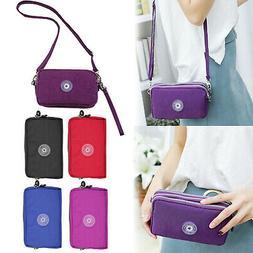Women Cell Phone Pouch Mini Shoulder Bags Purse Crossbody Me