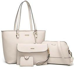 ELIMPAUL Women Fashion Handbags Tote Bag Shoulder Bag Top Ha