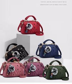 Women Handbag Shoulder Tote Bag Leather Crossbody Ladies Mes