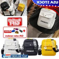 Women Ladies Shoulder Bag Canvas Messenger Handbags Crossbod