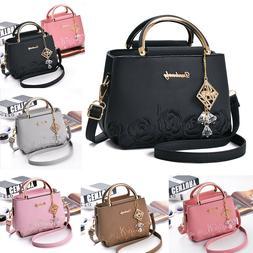 Women Lady Leather Handbags Shoulder Bags Messenger Satchel