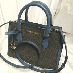Michael Kors Women Leather Crossbody Bag Handbag Purse Satch