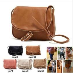 Women Leather Shoulder Bag High Quality Messenger Cross Body