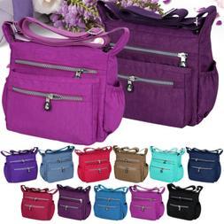 Women Messenger Travel Shoulder Bags Nylon Waterproof Crossb