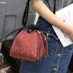 Women Portable Handbag Shoulder Bag Triangular Crossbody Bag