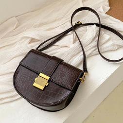 Women PU Leather Crossbody Bag Shoulder Luxury Ladies Travel