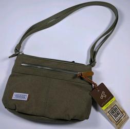 Travelon Women's Crossbody Bag Anti-Theft RFID Blocking Pock