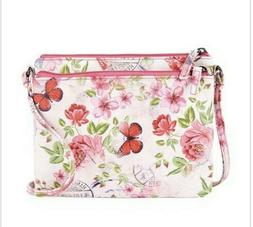 Mundi Women's Floral Adeline Safe Keeper RFID Cross Body Bag
