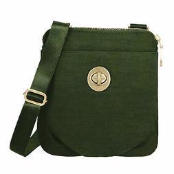baggallini Women's RFID Mini Hanover Crossbody Bag w/ RFID,