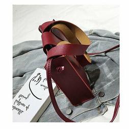 Women's Shoulder Crossbody Bag Small PU Leather Bag For Trav