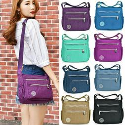 Women's Waterproof Satchel Shoulder Bag Tote Messenger Cross