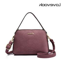 LOVEVOOK women shoulder crossbody bag high quality female sm