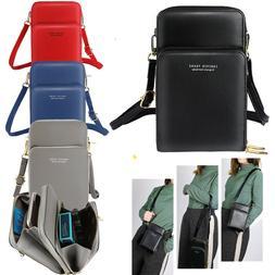 Women Small Cross-body Cell Phone Case Shoulder Bag Pouch Ha