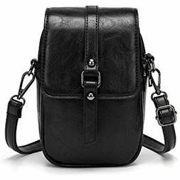 Women Vintage Crossbody Phone Bag, Small Messenger Shoulder