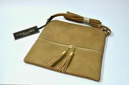 Deluxity Womens Lightweight Medium Crossbody Bag 10.5 x 9.5